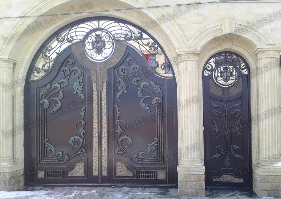 кованые ворота в махачкале цены от 5 500 руб